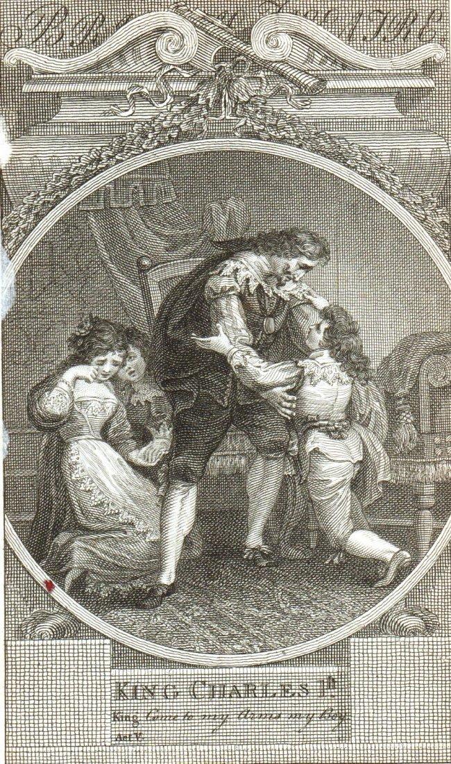 King Charles 1st. England. 1803.
