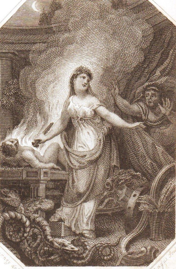 Ritual human sacrifice. 1803.