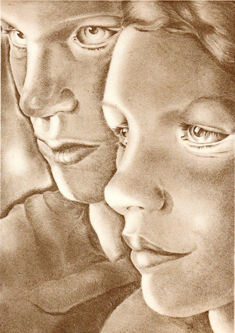 Marietti Lydis. Faces. Austria/Argentine. 1931.