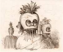 M Dumont DUrville Mens mask in Hawaii 1834