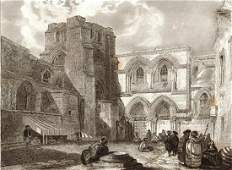 Church of the Holy Sepulchre Jerusalem 1859