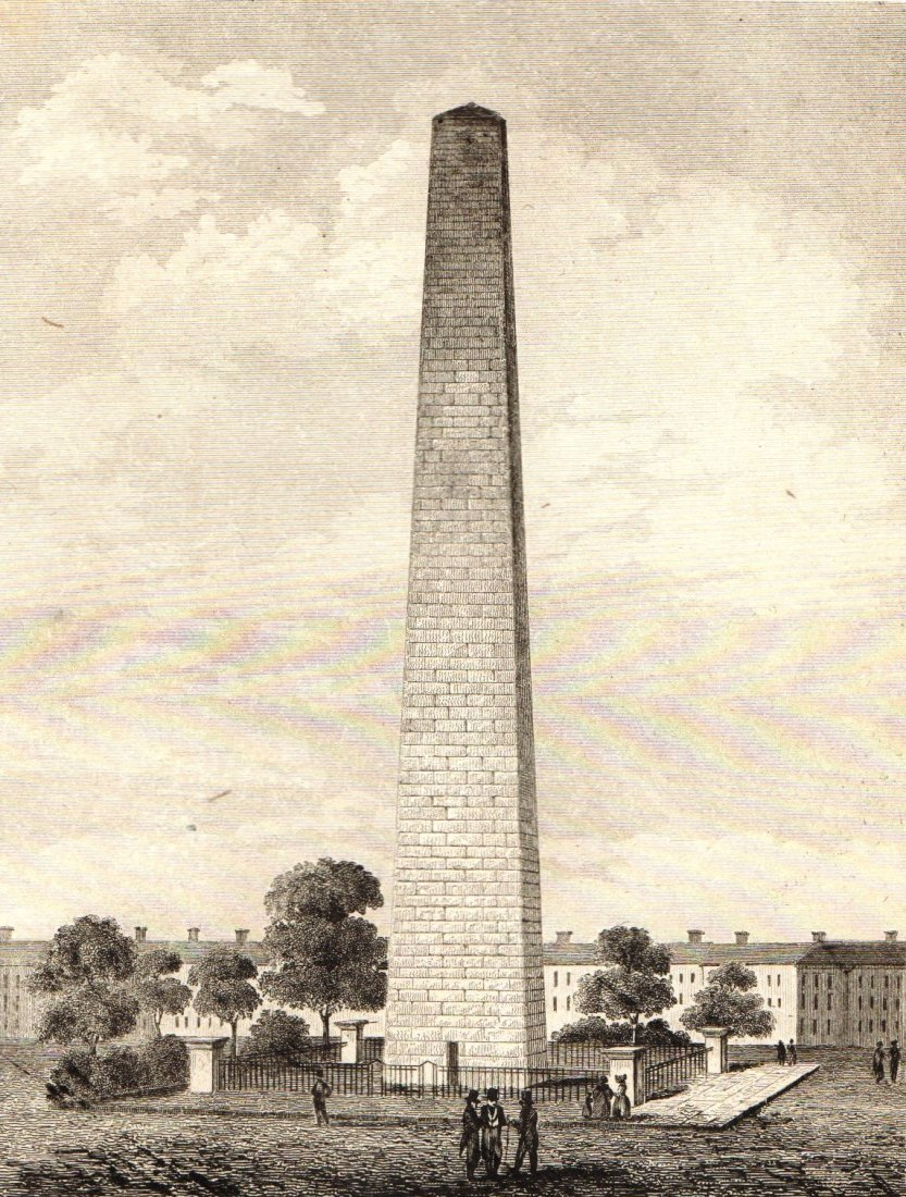 Bunker Hill Monument. United States. 1839.