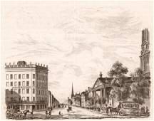 Broadway theatre in New York USA 1836