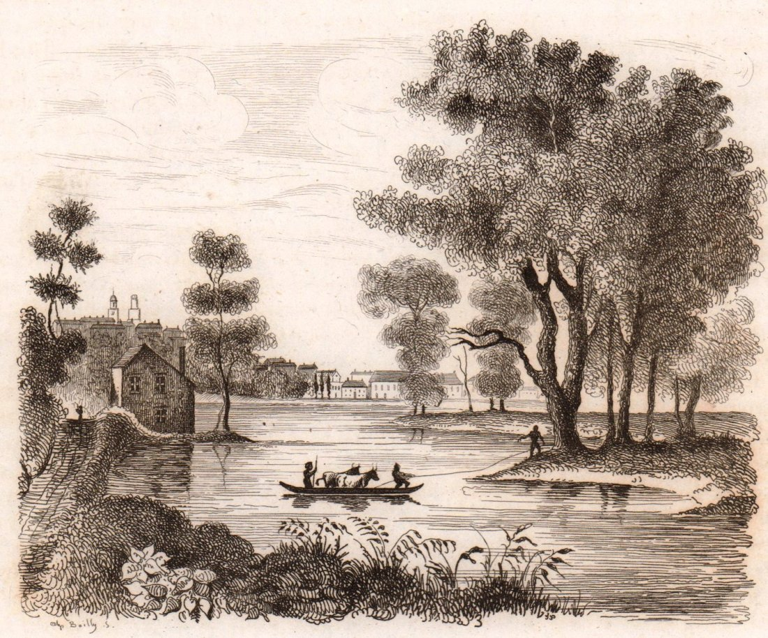 View of Albany. USA. 1836.