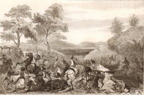 Combat At 1st Of September, 1759. Poulok-kol Mountains.