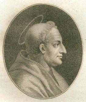 Quirin Mark. Portrait Of Saint Alexander. 1809.