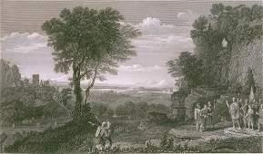 Landscape. France. 1870.