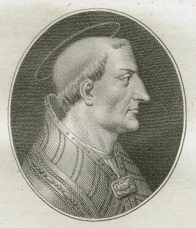 Quirin Mark. Portrait Of Saint Leo The Great. 1809.