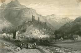 Itri Italy 1842