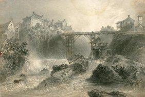 Bridge At Sherbrooke. England. 1842.