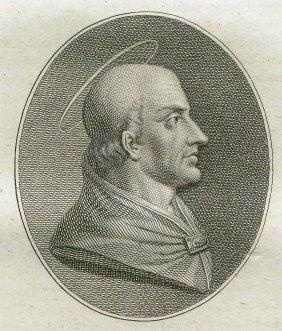 Quirin Mark. Portrait Of Saint Felix Iii. 1809.