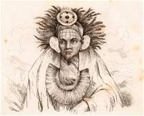 M Dumont DUrville Chief of Tao Wati Nuku hiva 1834