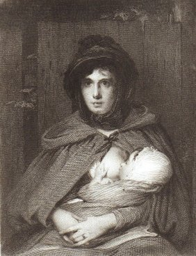 David Wilkie. The Gipsey Mother. Scotland. 1817.