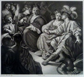 Rutilio Di Lorenzo Manetti . Together. Italy. 1842.