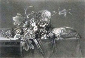Willem Van Aelst. Fruits. Netherlands. 1843.
