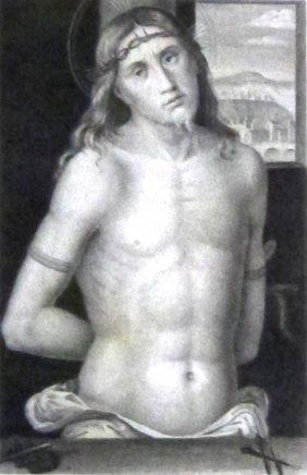 Piero Del Pollaiolo. Behold The Man. Italy. 1843.