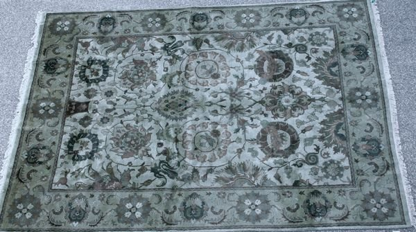 """1020: EXCELLENT NATURAL DYE INDIA, 2' 1"""" x 9' 2"""""""