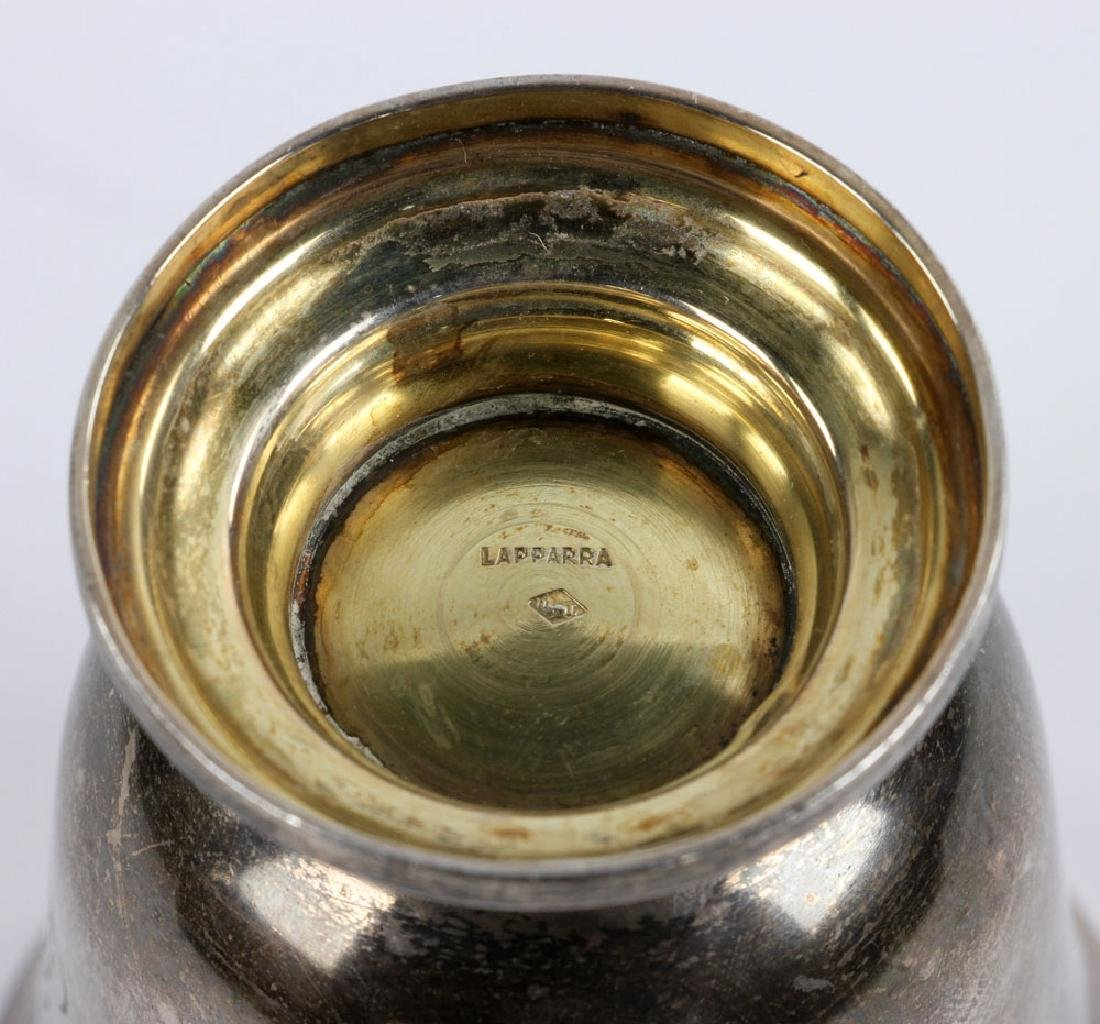Engraved French Silver Cup - 7