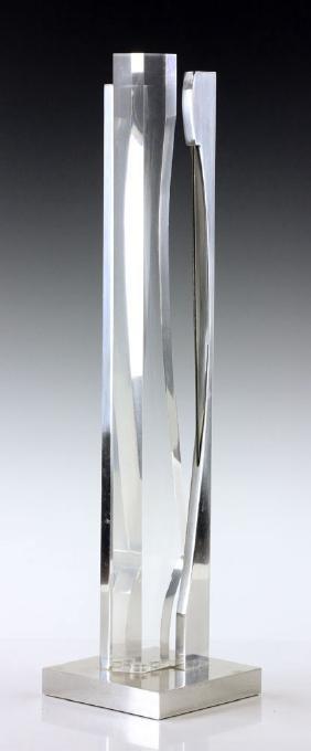 Helsmoortel, Modern Sculpture, Acrylic and Metal
