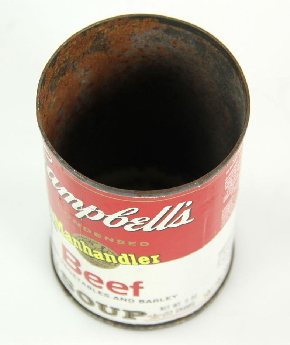 Warhol Autographed Soup Can - 6
