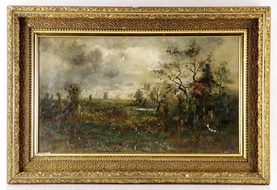 American School, Autumn Harvest, Oil on Canvas