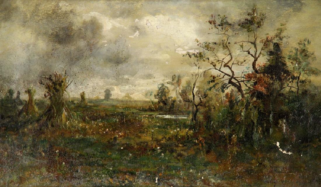 American School, Autumn Harvest, Oil on Canvas - 4
