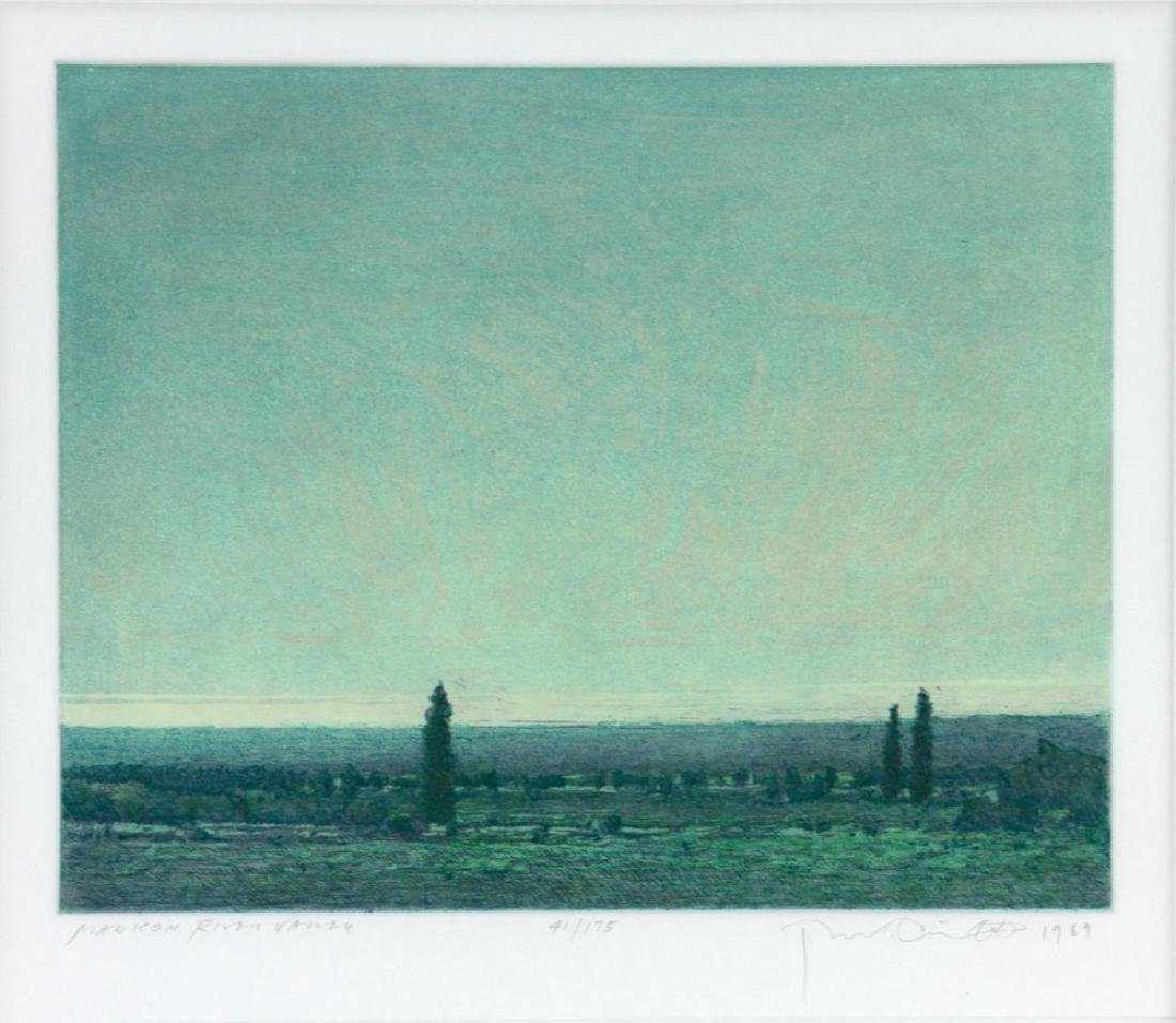 "Chatham, ""Madison River Valley,"" Lithograph - 3"