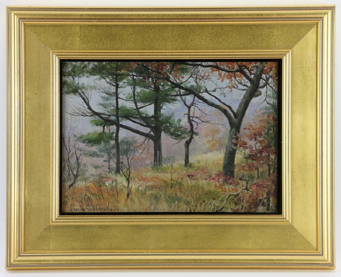 Corwin, Autumn Landscape, Oil on Canvas
