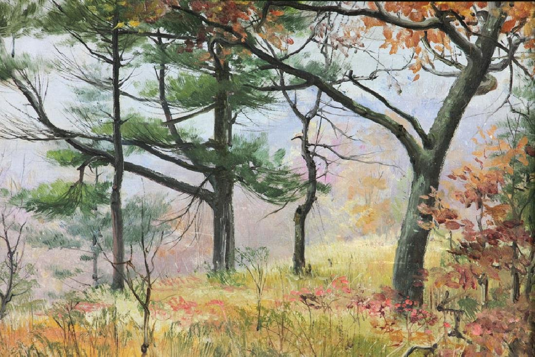 Corwin, Autumn Landscape, Oil on Canvas - 3