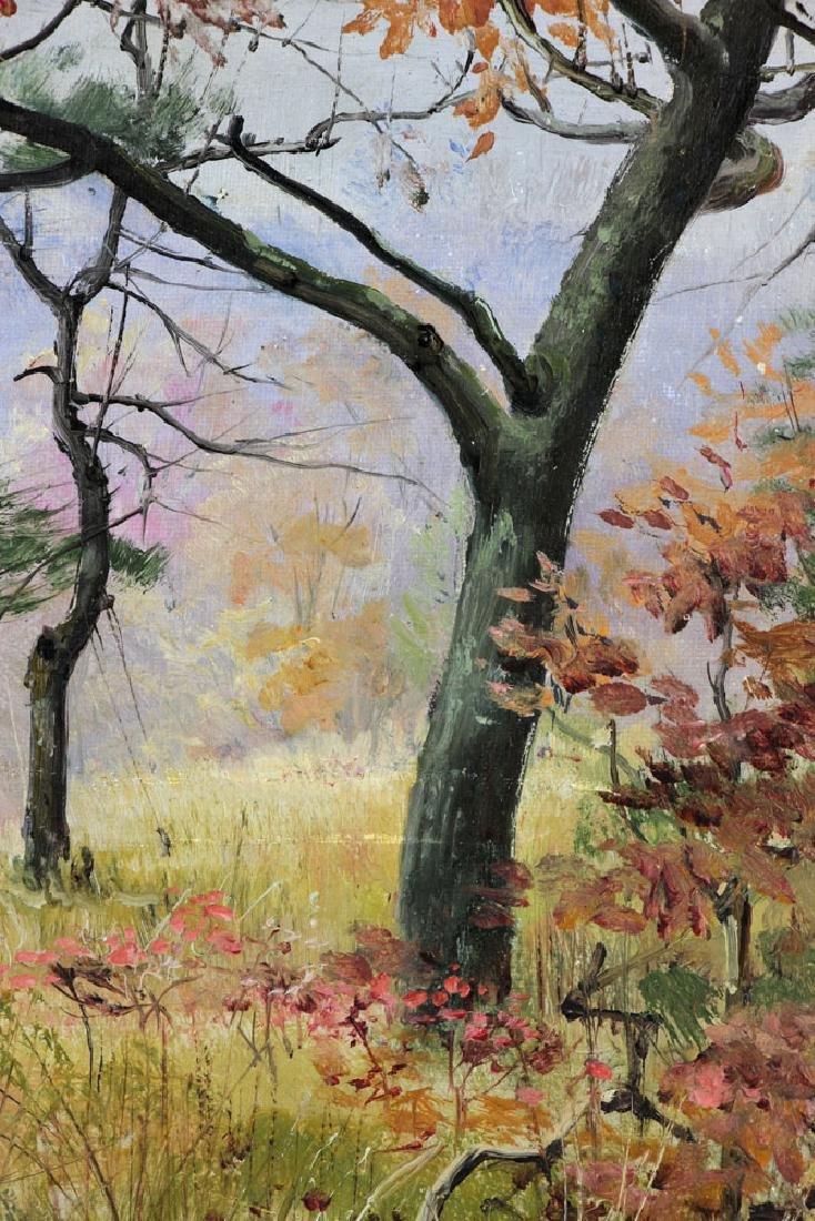 Corwin, Autumn Landscape, Oil on Canvas - 4