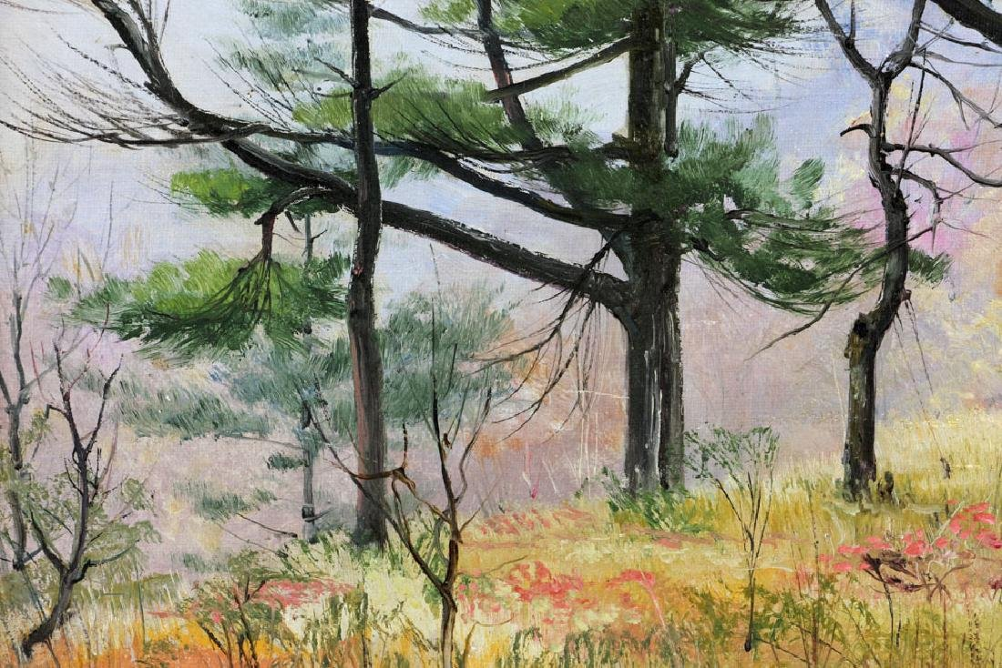 Corwin, Autumn Landscape, Oil on Canvas - 5