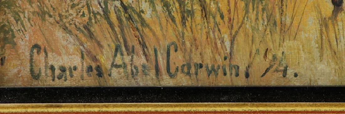 Corwin, Autumn Landscape, Oil on Canvas - 6