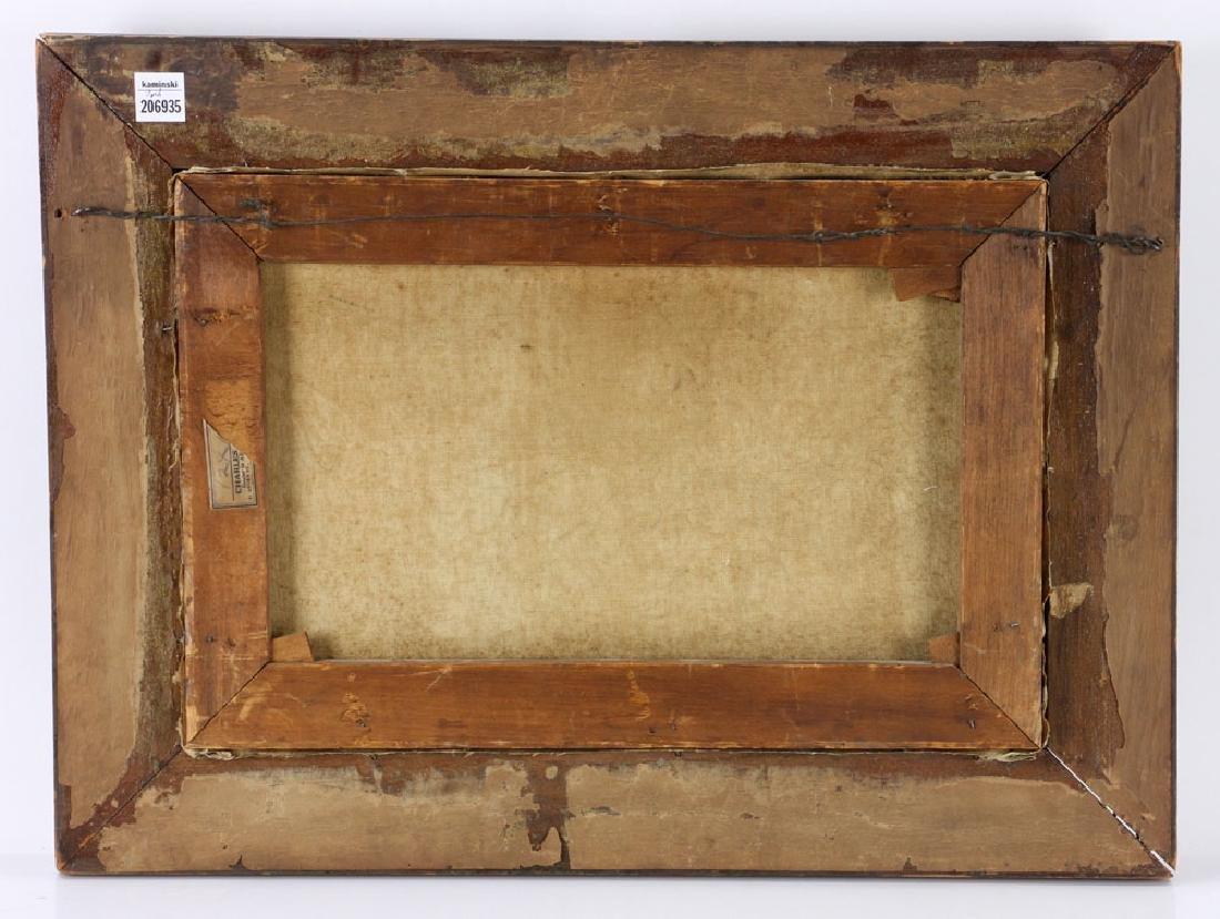 19th C. Seaside, Oil on Canvas - 3