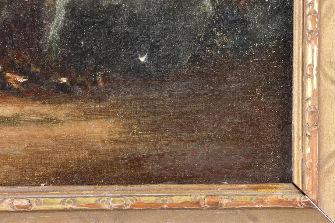 19th C. Seaside, Oil on Canvas - 7