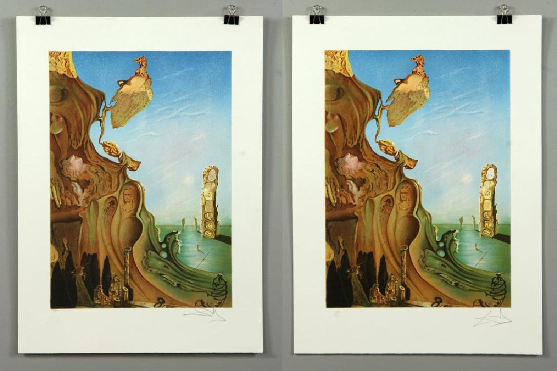 Two After Dali Lithographs