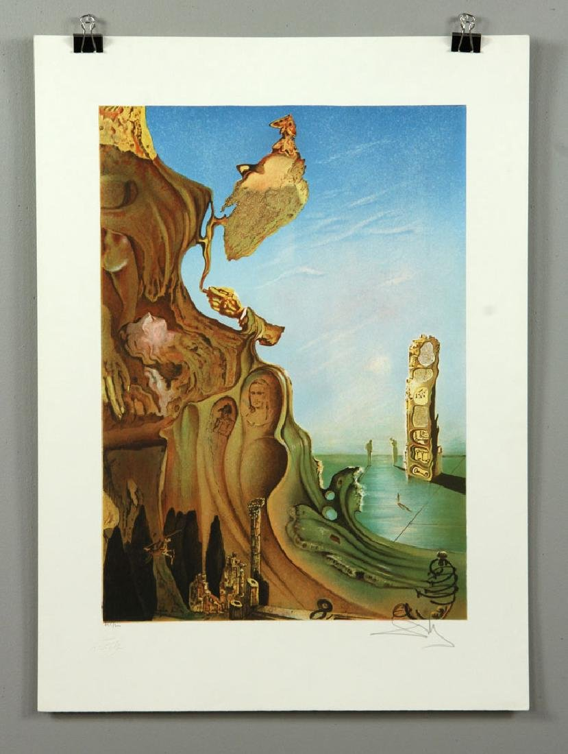Two After Dali Lithographs - 2