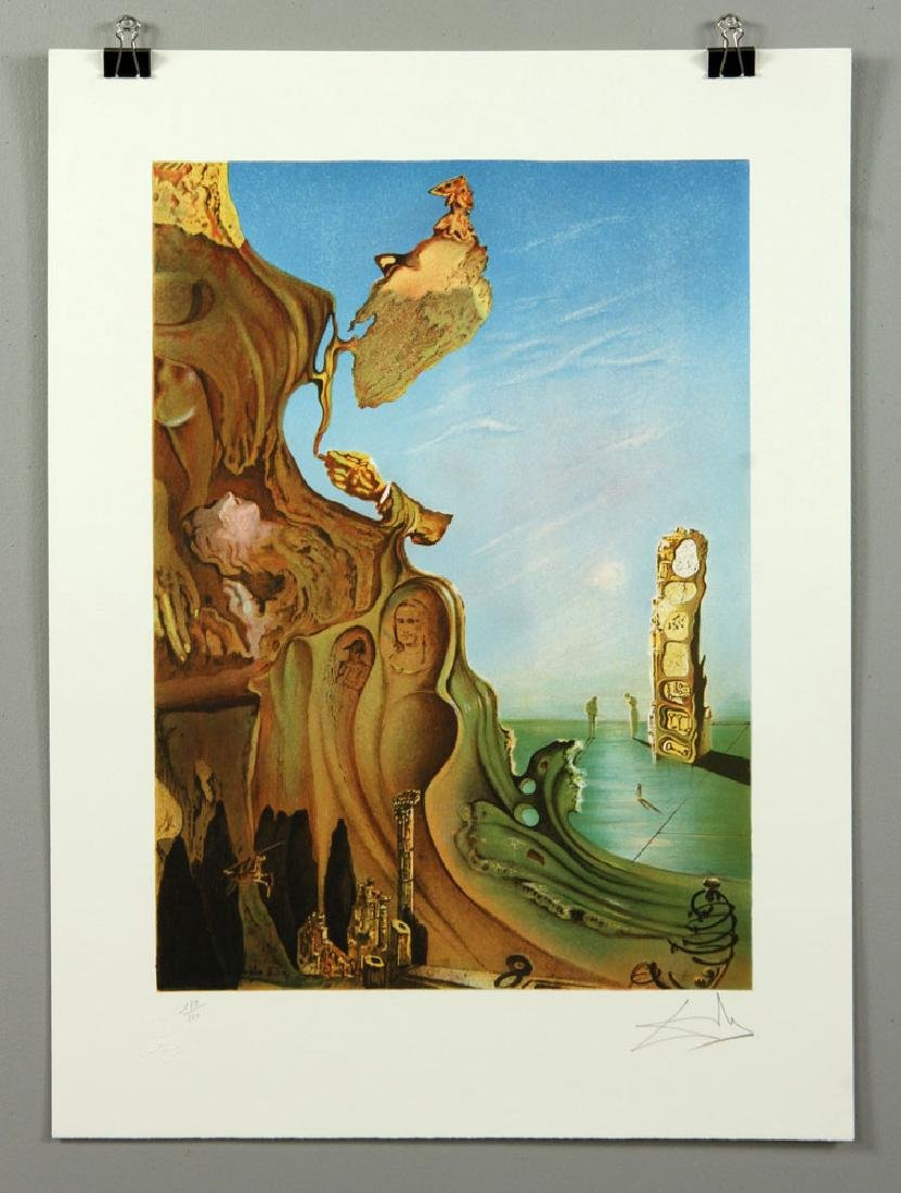 Two After Dali Lithographs - 3