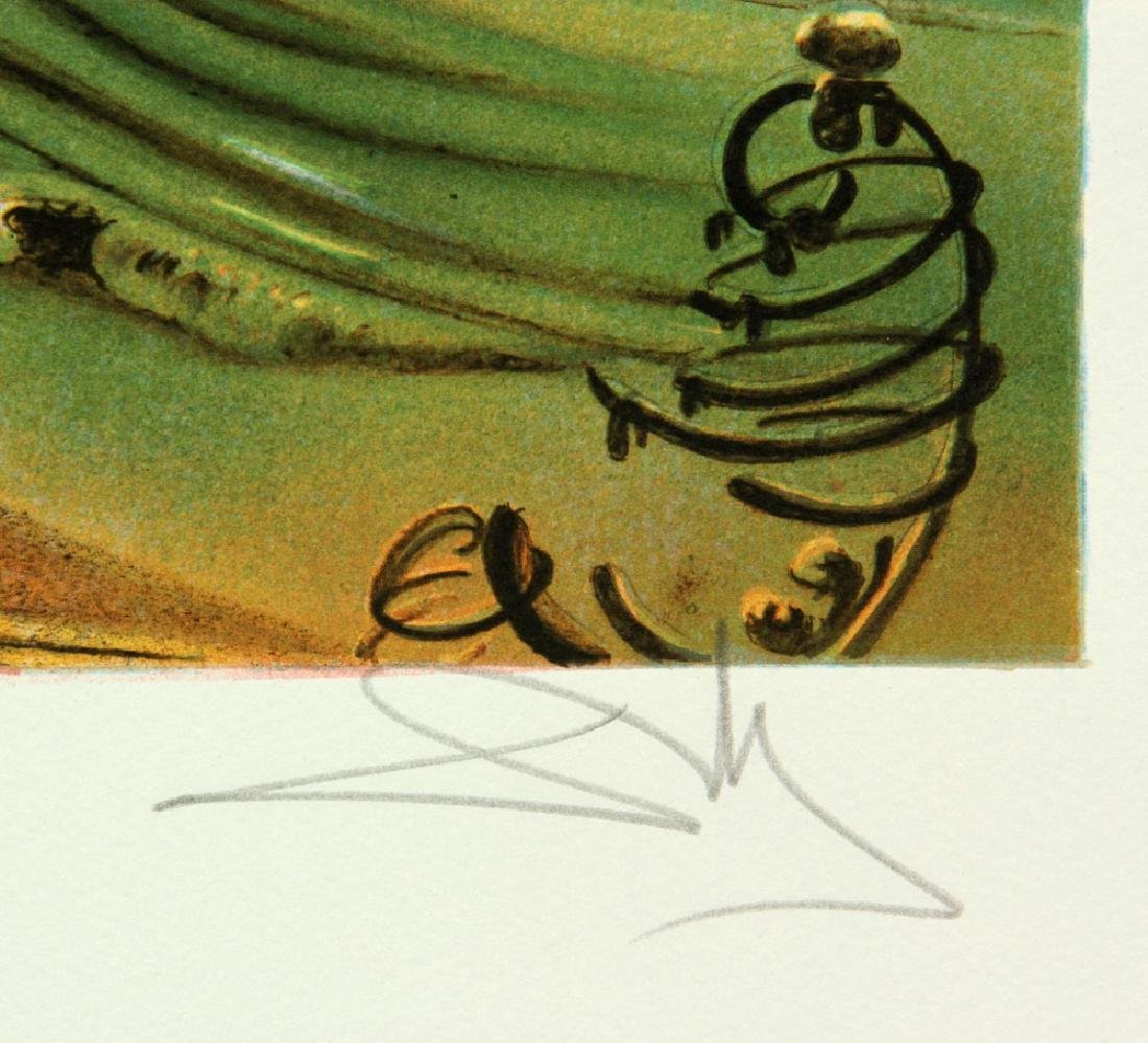 Two After Dali Lithographs - 6