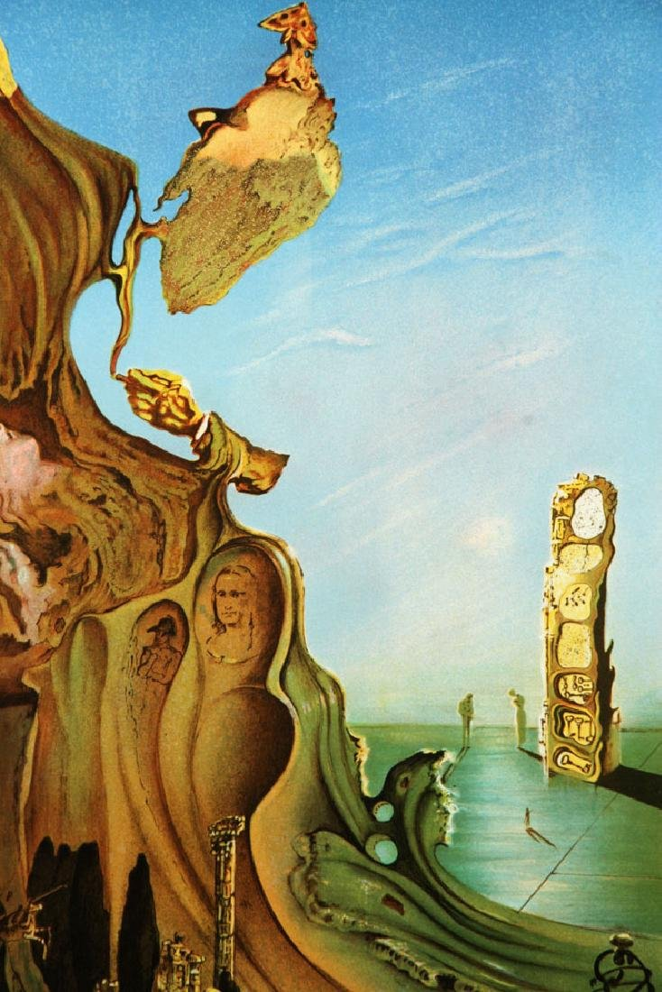 Two After Dali Lithographs - 9