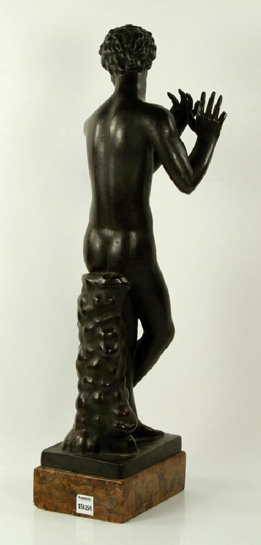 Sculpture of Young Boy, Bronze - 2