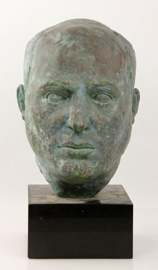 Bronze Head of a Man