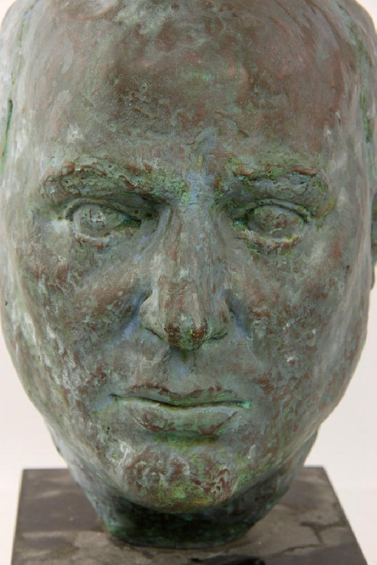 Bronze Head of a Man - 2
