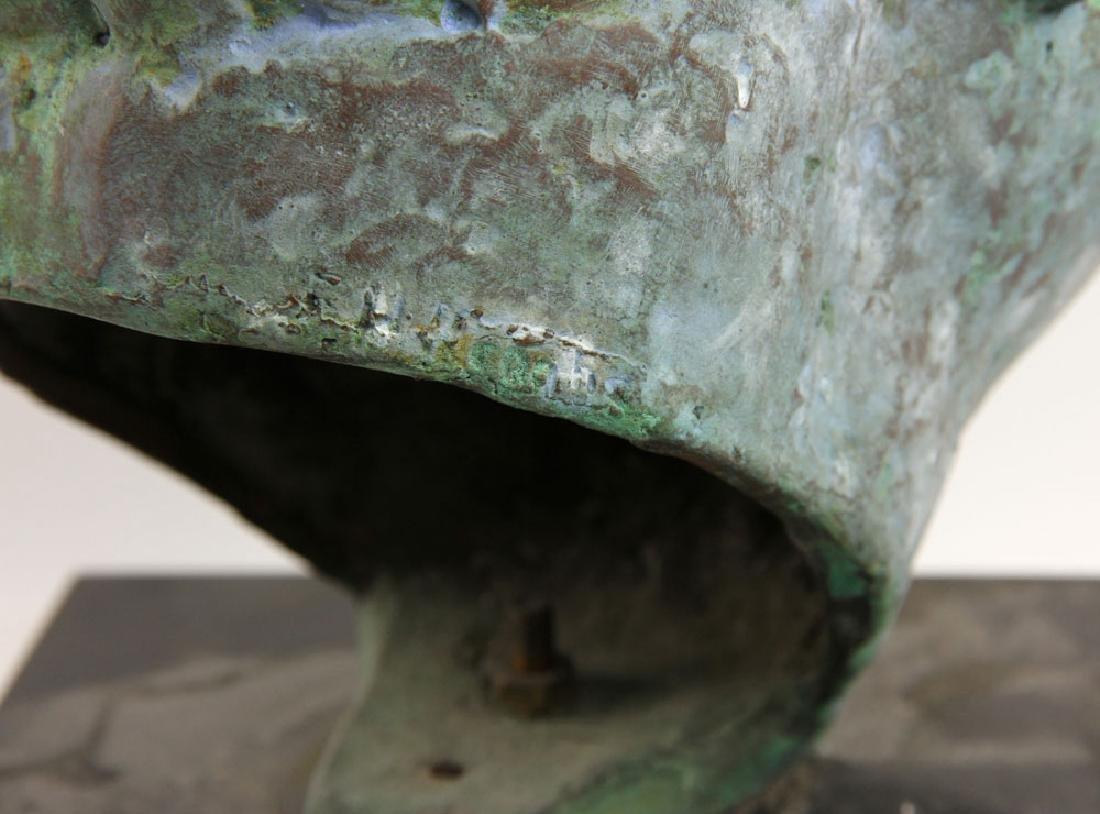 Bronze Head of a Man - 4