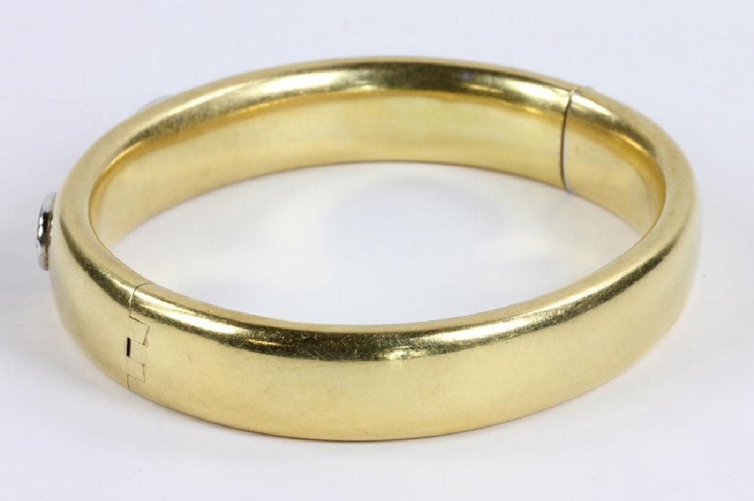 18K Gold and Diamond Bracelet - 3