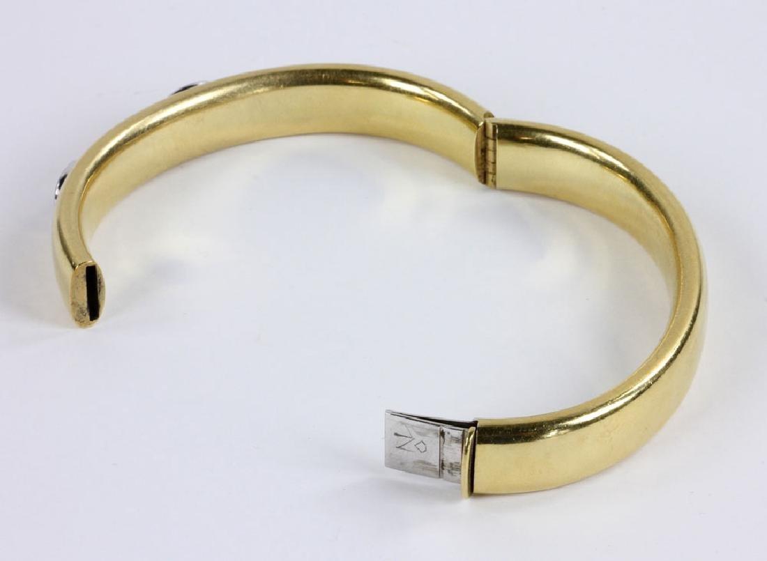 18K Gold and Diamond Bracelet - 6