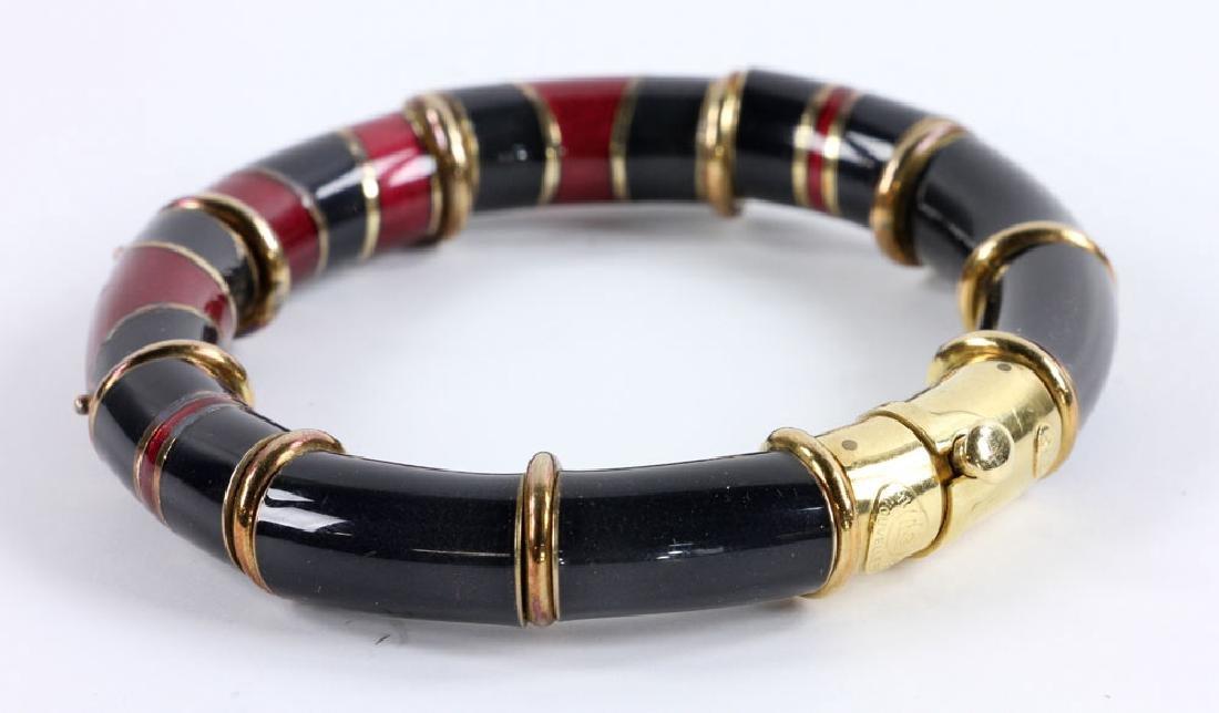 Two Ladies' Bangle Bracelets - 4