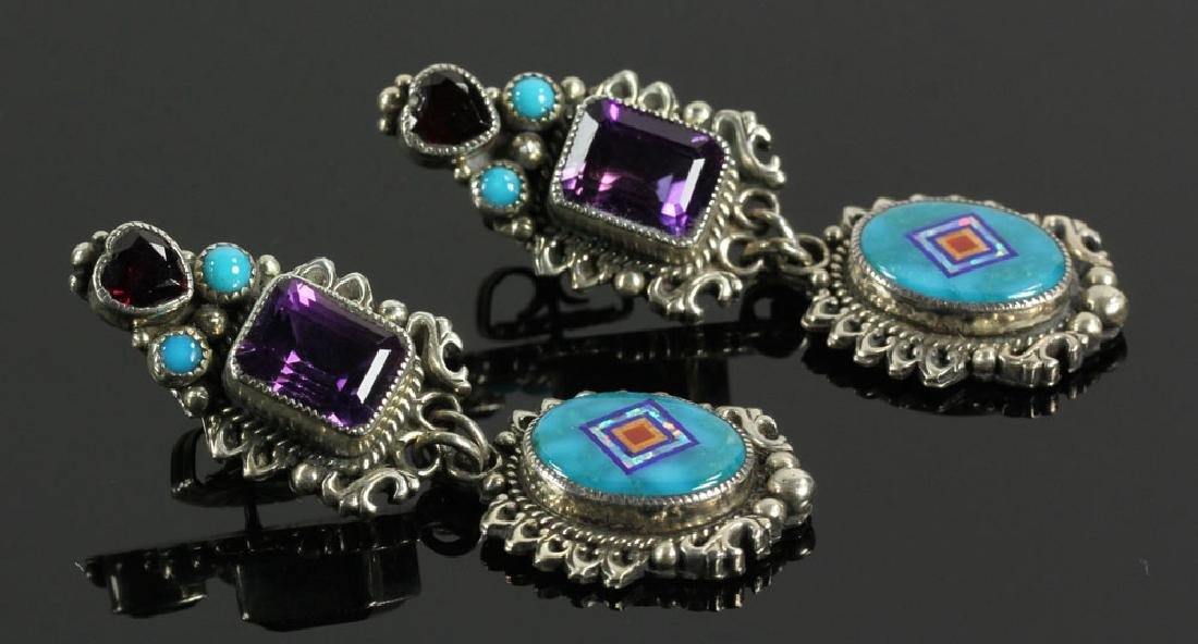 Santa Fe Turquoise Earrings