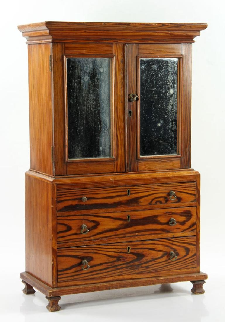 English Oak Linen Press