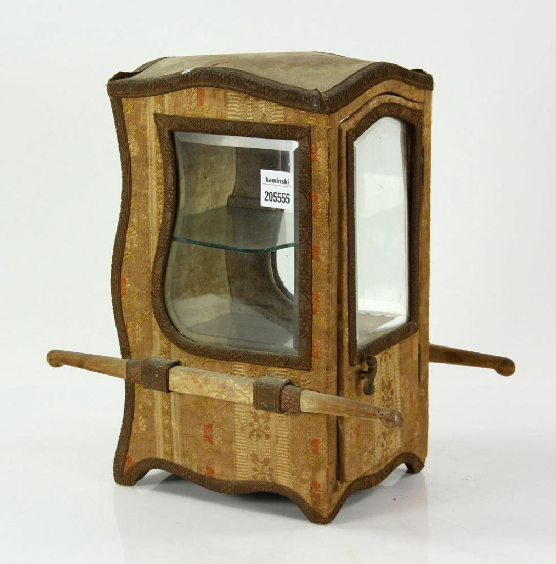 French Miniature Carriage Coach Display Cabinet
