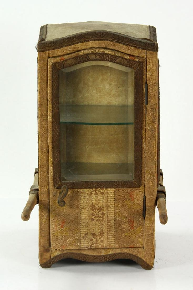 French Miniature Carriage Coach Display Cabinet - 2